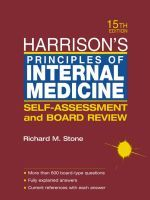 Harrisons. Principles of internal medicine. 15th edition.