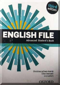 ENGLISH FILE. Advanced Student s Book. 3-ed.
